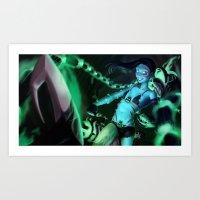 Underworld Jinx Art Print