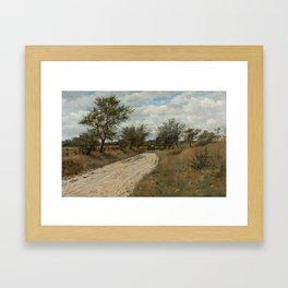 Burr H. Nicholls (1848–1915), Country Road Framed Art Print