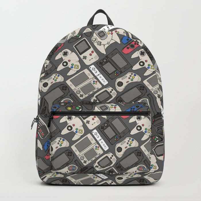 Video Game Controllers in True Colors Backpack