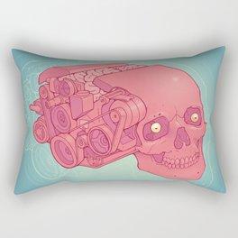 An Unquieted Mind Rectangular Pillow
