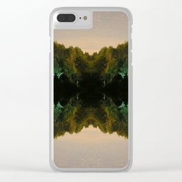Perfect Reflection Clear iPhone Case