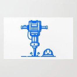 Jackhammer Rug