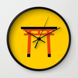 Torii (鳥居) (eastern portal) Wall Clock