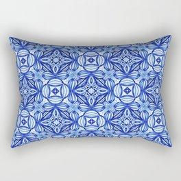 For the Love of Blue - Pattern 372 Rectangular Pillow