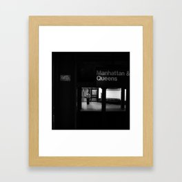 Love me // Manhattan, NYC, 2011 Framed Art Print