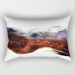 Mountains within us Rectangular Pillow