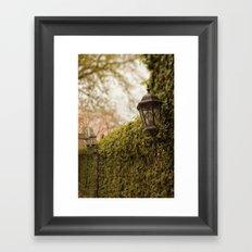 New Orleans - Ivy Garden Wall Framed Art Print