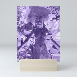 UV Statue Mini Art Print