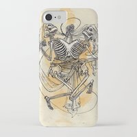 gemini iPhone & iPod Cases featuring Gemini by Anna Rosenfeld