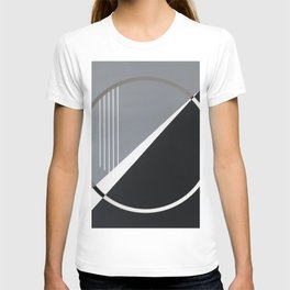 London - circle graphic T-shirt
