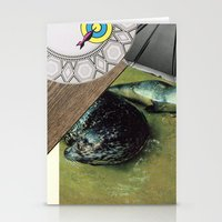 seal Stationery Cards featuring Seal by Mary Lewey