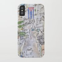 cuba iPhone & iPod Cases featuring Cuba by Leah Vaughn