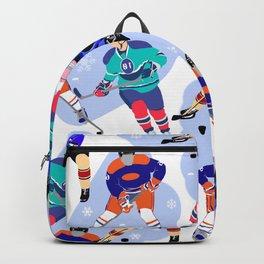Ice Hockey print 001 Backpack