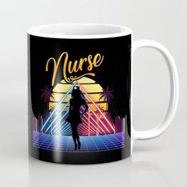 Nurse Retro Vintage Style - Registered Nurse Gift Coffee Mug