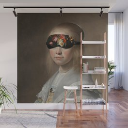 Blindfold Wall Mural