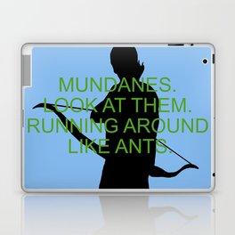 Alec Lightwood - Mundanes Laptop & iPad Skin