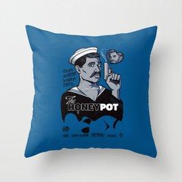 The Honeypot Throw Pillow