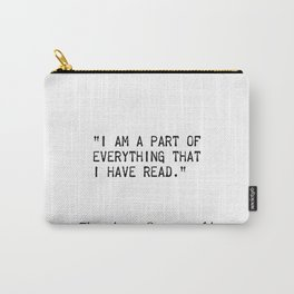 Theodore Roosevelt quotes Carry-All Pouch