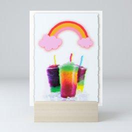 FROZEN BRAIN Mini Art Print