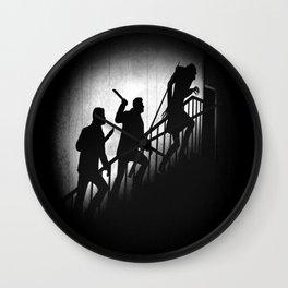 The Nosferatu Hunters Wall Clock