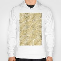 tropical Hoodies featuring Tropical Gold by Cat Coquillette