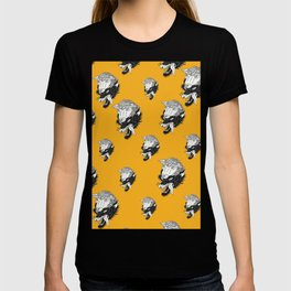 Wolf In Sheeps Clothing Pattern T-shirt