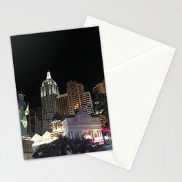 New York New York Vegas Stationery Cards