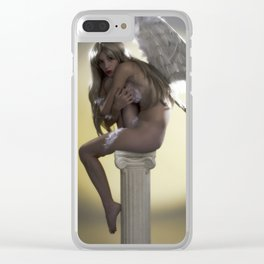 Angel 1 Clear iPhone Case
