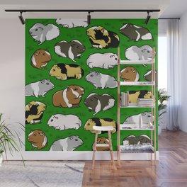 Guinea pig pattern Wall Mural