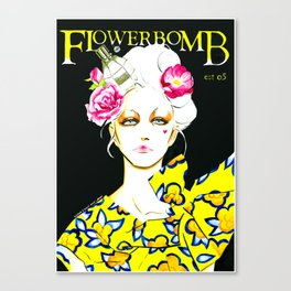 Marie Antoinette only wears Flowerbomb Canvas Print