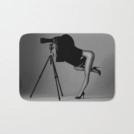 The nude photographer Bath Mat