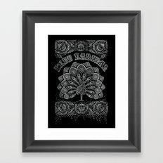 Free Radical Framed Art Print