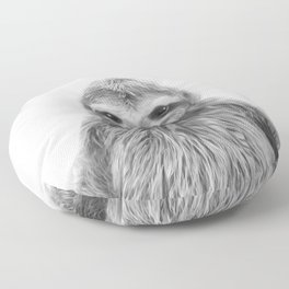 Young Sloth Floor Pillow