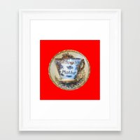 antique Framed Art Prints featuring Antique by gbcimages