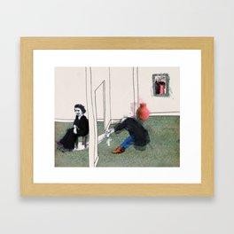 The Monster Series (7/8) Framed Art Print
