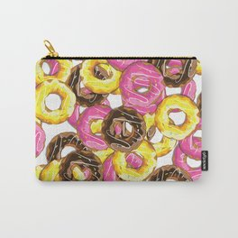 Delicious donut pattern Carry-All Pouch