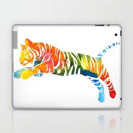 Pouncing Tiger Laptop & iPad Skin
