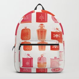 Flask Collection – Pink/Peach Ombré Palette Backpack