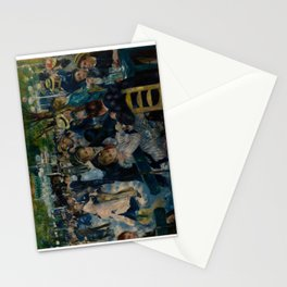 Auguste Renoir - Dance at Le Moulin de la Galette Stationery Cards