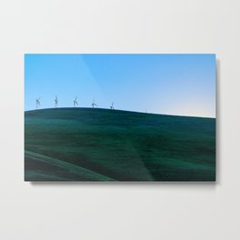 California Wind Mills Metal Print