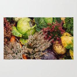 Vegetable pattern Rug