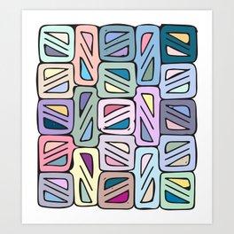 skew Art Print