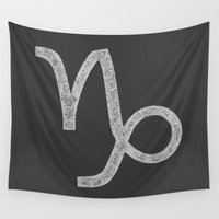 capricorn Wall Tapestries featuring Capricorn by David Zydd