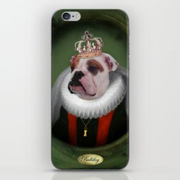 English Bulldog Art - Lucy iPhone Skin