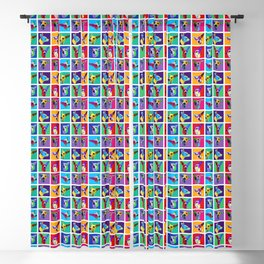 Maggie Warholed Blackout Curtain