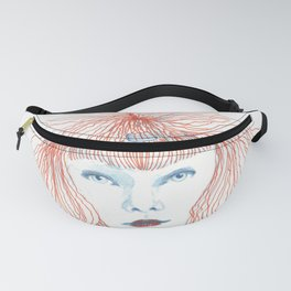 Weird poodles - Ginger dye Fanny Pack
