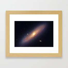 Spiral galaxy Framed Art Print
