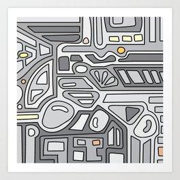 MIN8 Art Print
