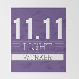 11.11 LIGHT WORKER Throw Blanket