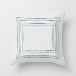 Never hope for it more than you work for it Throw Pillow